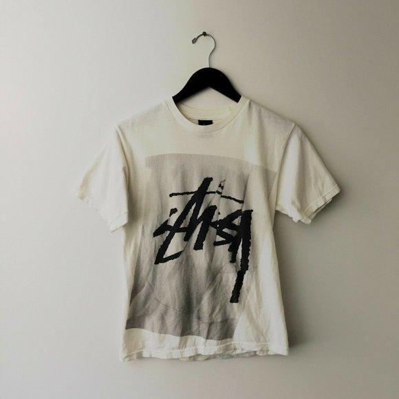 Stussy Tee Shirt Skate Graphic Originals Sport S